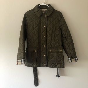 100% Authentic Burberry Brit Quilted Coat Jacket